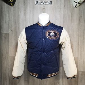 Edmonton Oilers Quilted Puffer Jacket Youth L 16/1